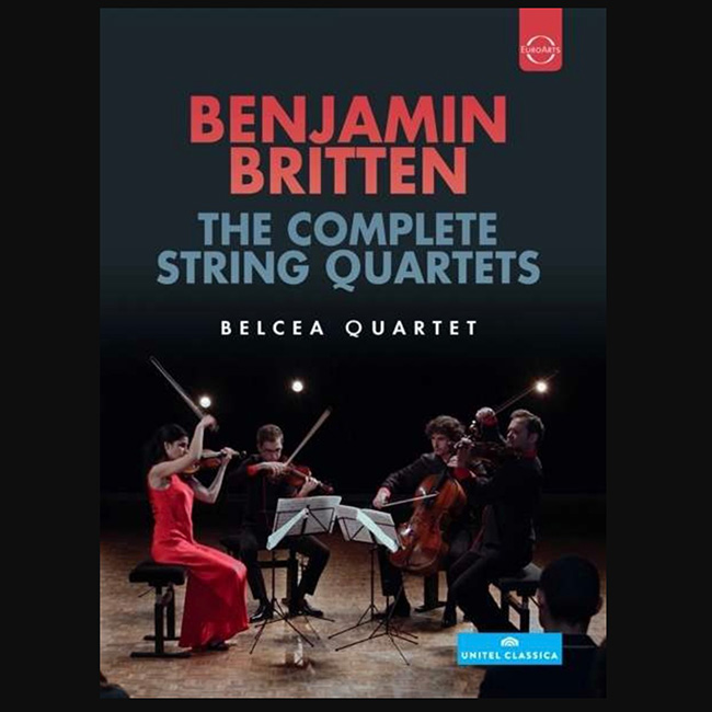 Britten The complete String Quartets - DVD