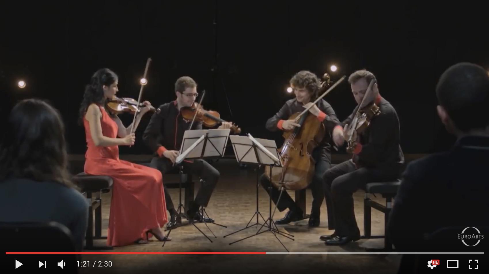 Benjamin Britten - Complete String Quartets, Trailer - belcea quartet