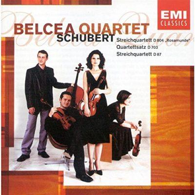 Schubert string quartets belcea