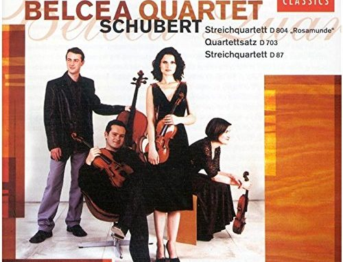 "Schubert: String Quartets No. 13 in A minor D.804 (""Rosamunde"") & No. 10 in E flat Major, D87"