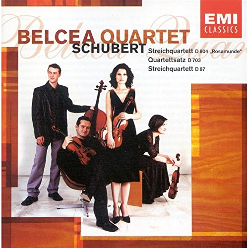 Schubert string quartets belcea
