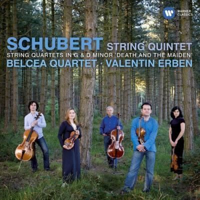 Schubert string quartet and quintet belcea