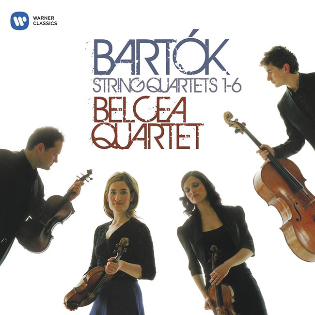 bartok complete string quartets belca