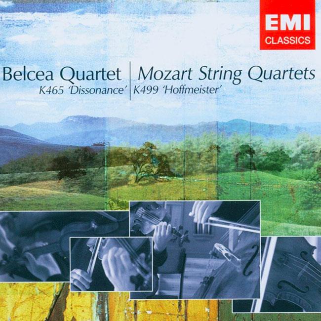 mozart belcea quartet