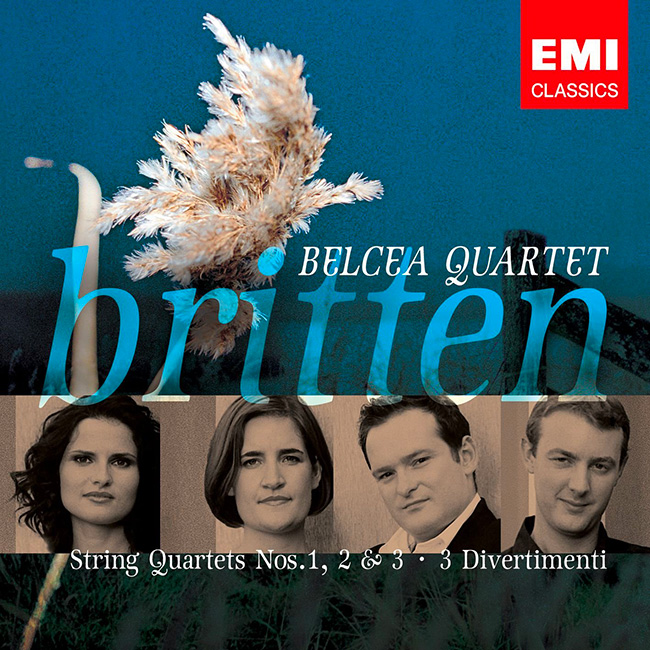 Belcea Quartet plays Britten