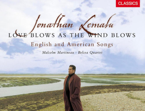 Jonathan Lemalu: Love Blows As The Wind Blows
